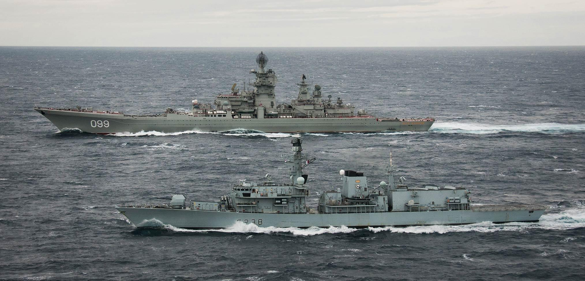 How the Royal Navy monitors the Russian Navy sailing close to the UK