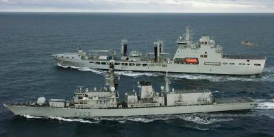 Royal Navy leads Joint Expeditionary Force task group in the Baltic Sea