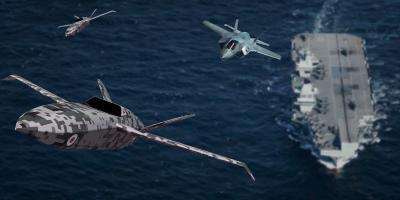 Cats, traps and UAS –  the Royal Navy considers options for carrier-launched drones