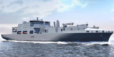 The competition to build the Fleet Solid Support Ships has been restarted