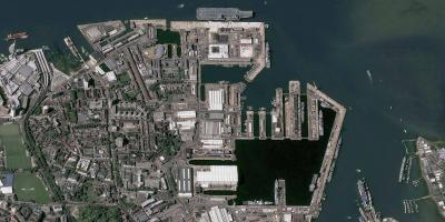 Satellite-based maritime surveillance provided to the Royal Navy by Airbus
