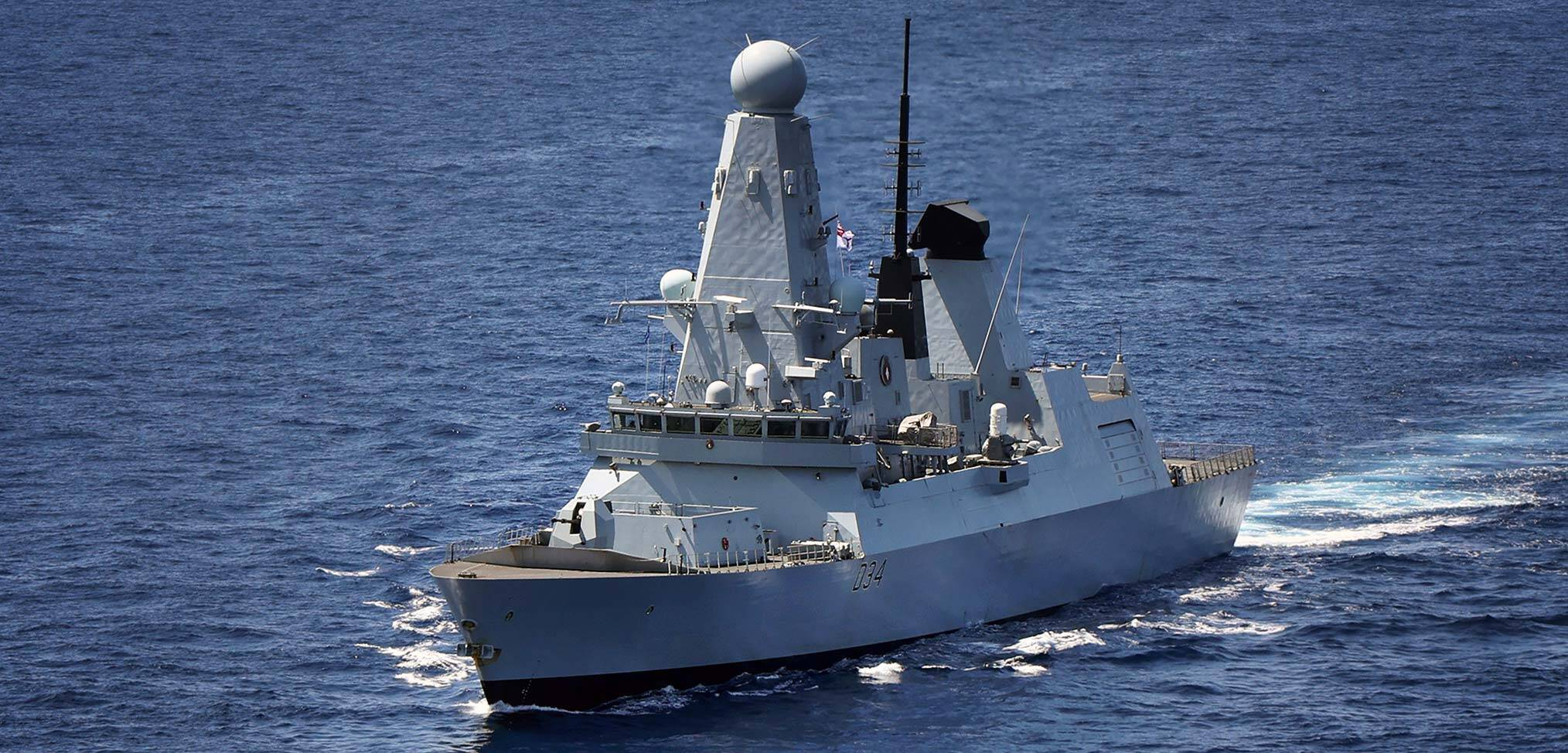 HMS Diamond suffers serious defect during Carrier Strike Group deployment