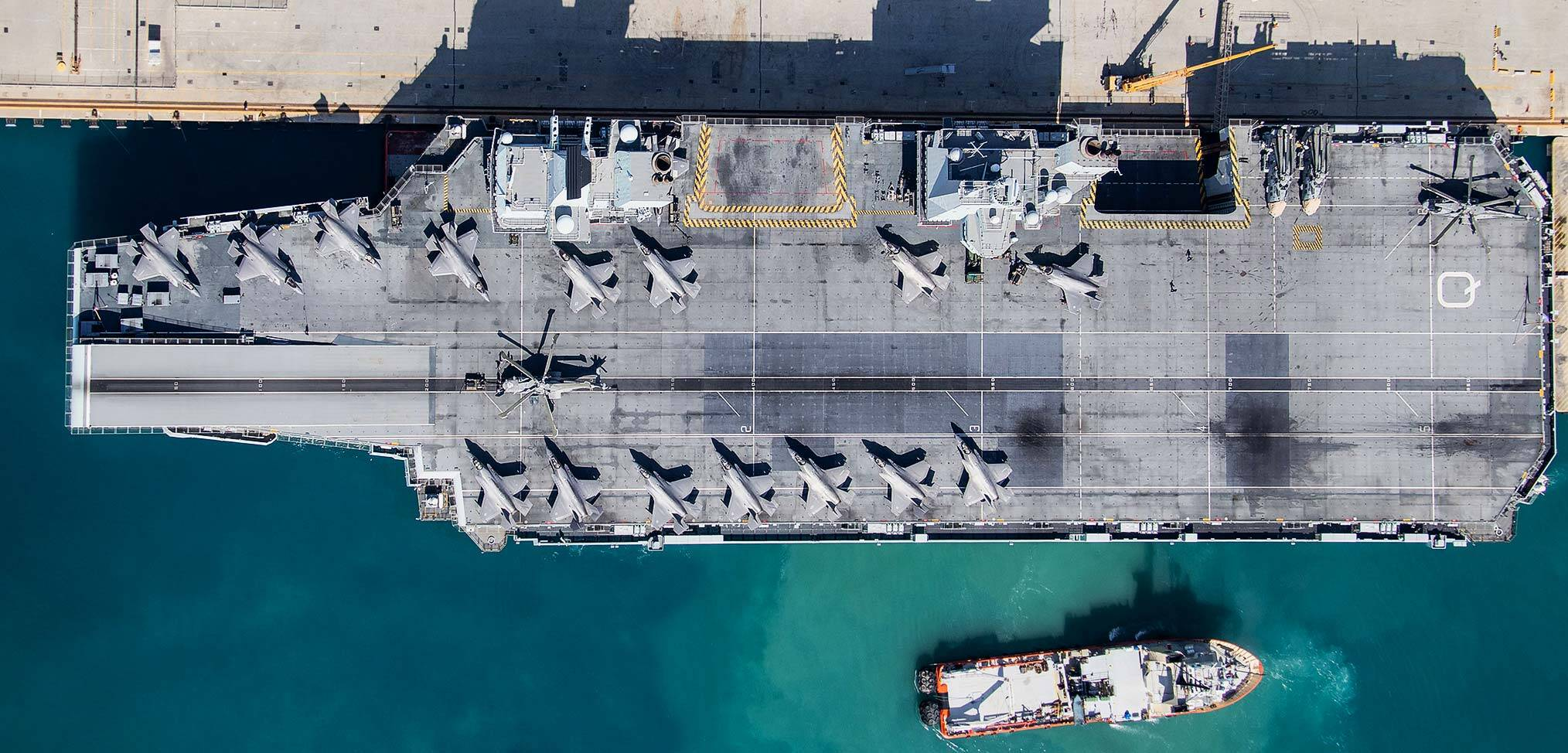 Mediterranean interlude – the Carrier Strike Group on its defence diplomacy mission