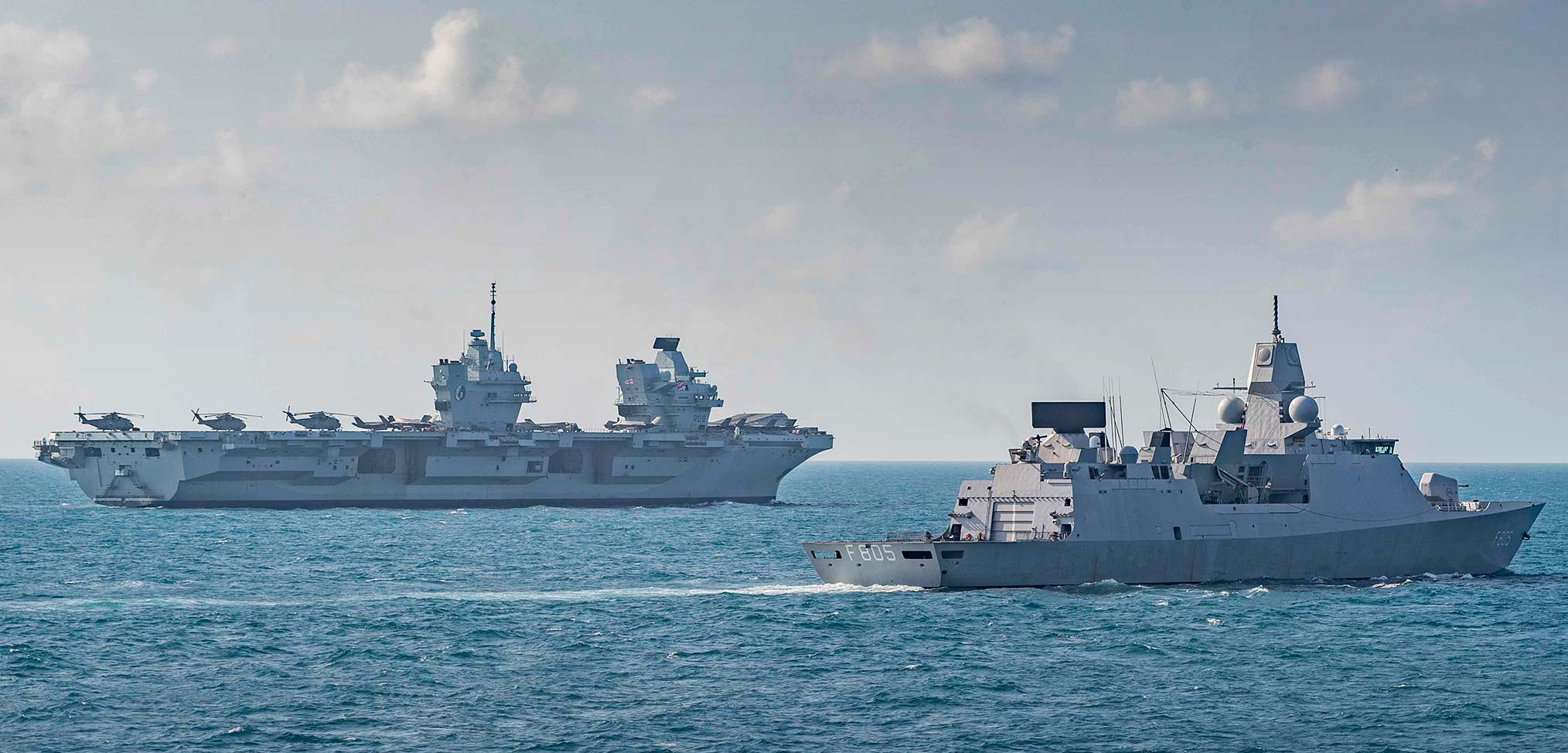 """Carrier Strike Group interactions with Chinese vessels described as """"safe and professional"""""""