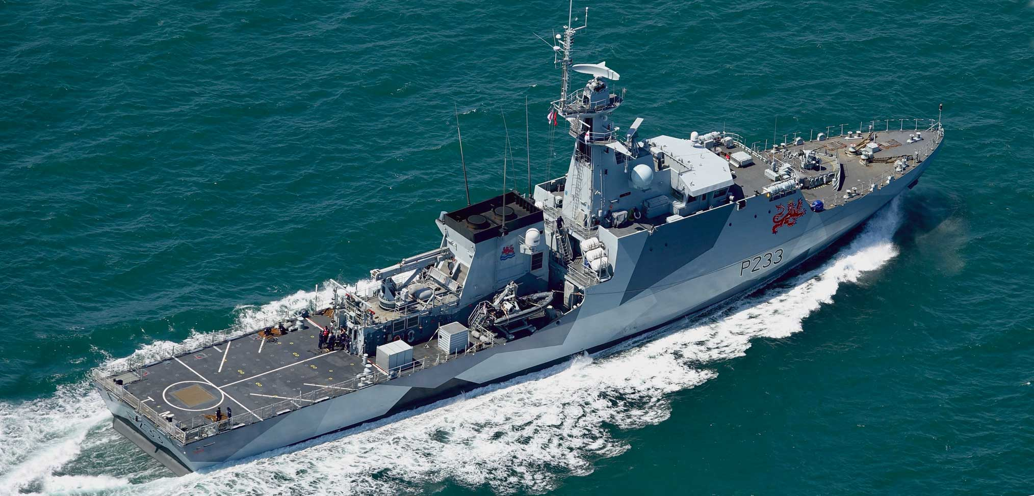 Royal Navy warships sail for permanent basing in the Indo-Pacific region