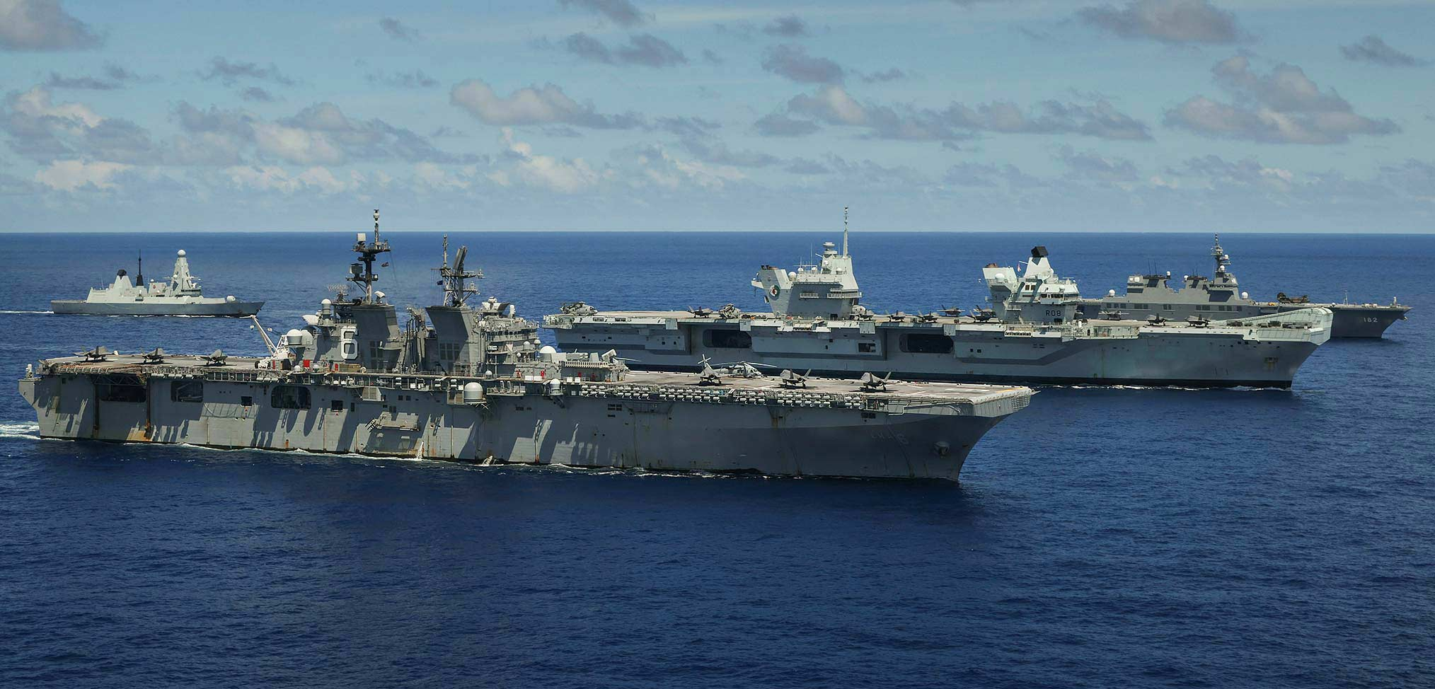 Photo essay – the Carrier Strike Group – operations in the Pacific