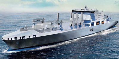 Contracts awarded to four consortia to develop bids for the Fleet Solid Support ship competition