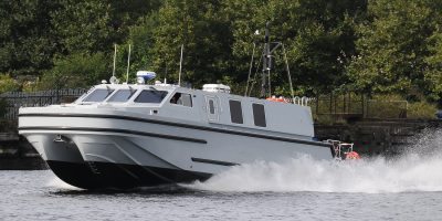 Up close with the Royal Navy's new officer training boats