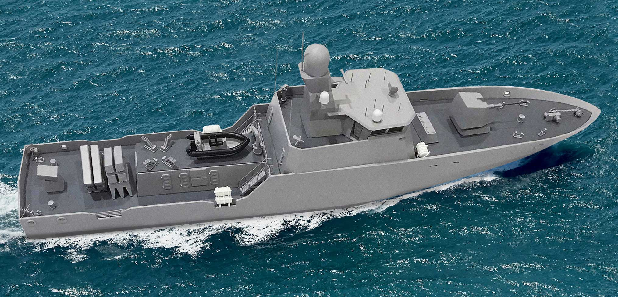 Small warships for Ukraine to be built in Scotland